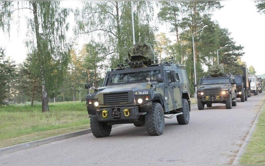 Dziesiątki jednostek niemieckiej techniki wojskowej na litewskich drogach. Ministerstwo Obrony prosi o wyrozumiałość