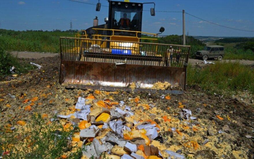 В России решили уничтожать продукты из пяти новых стран