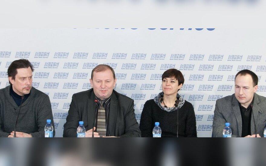 V.Juozapaitis, D.Pūras, N.Marčėnaitė, V.Laučius