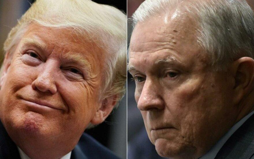 Трамп уволил генпрокурора Джеффа Сешнса