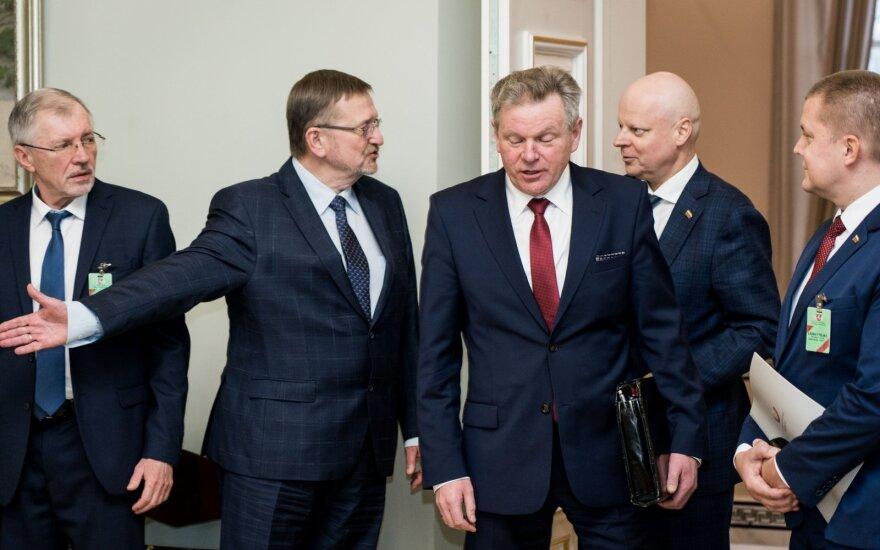 Gediminas Kirkilas, Juozas Bernatonis, Jaroslavas Narkevičius, Saulius Skvernelis