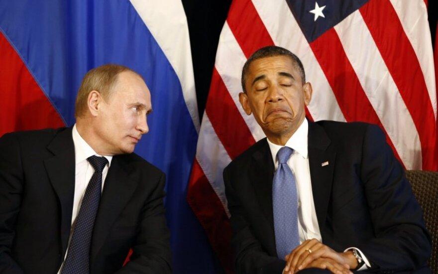 Putin wezwał Obamę do współpracy w interesie całego świata