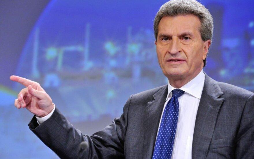 Еврокомиссар по энергетике: ЕС поможет Украине с газом