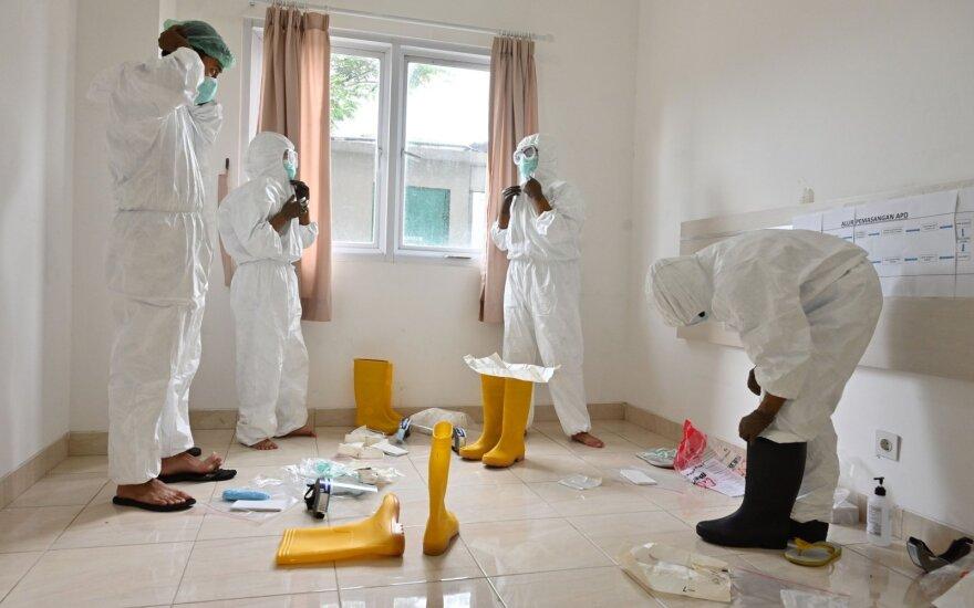 В Литве за сутки подтвердили 2 новых случая коронавируса