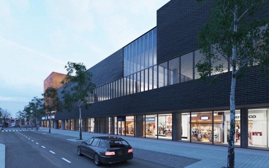 Торговый центр в Вильнюсе попытается привлечь тех, кто ездит за покупками в Польшу