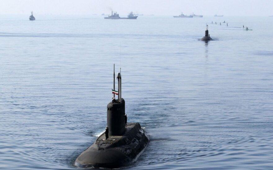 Irano povandeninis laivas