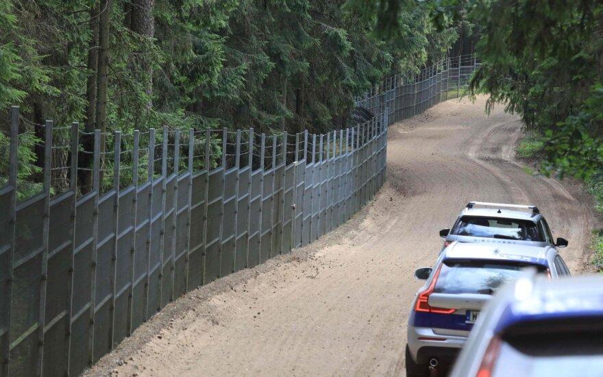 За сутки на границе с Беларусью развернули 20 мигрантов, никого в Литву не впустили