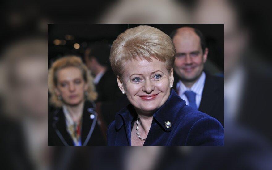 D.Grybauskaitė atvyko į ES viršūnių susitikimą