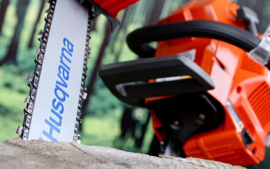 В Каунасском районе украли тягач с грузом