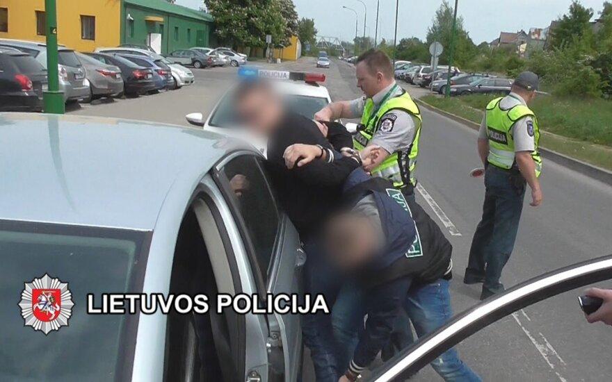 Клайпедская полиция задержала подозреваемого в развращении детей