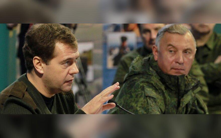 Dmitrijus Medvedevas ir Nikolajus Makarovas