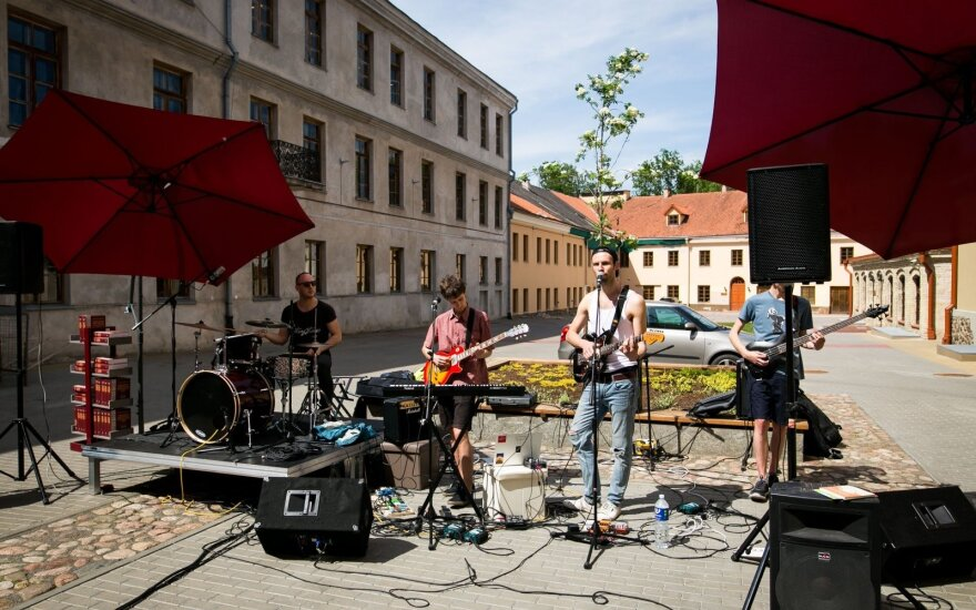 В Вильнюсе прошел традиционный День уличной музыки