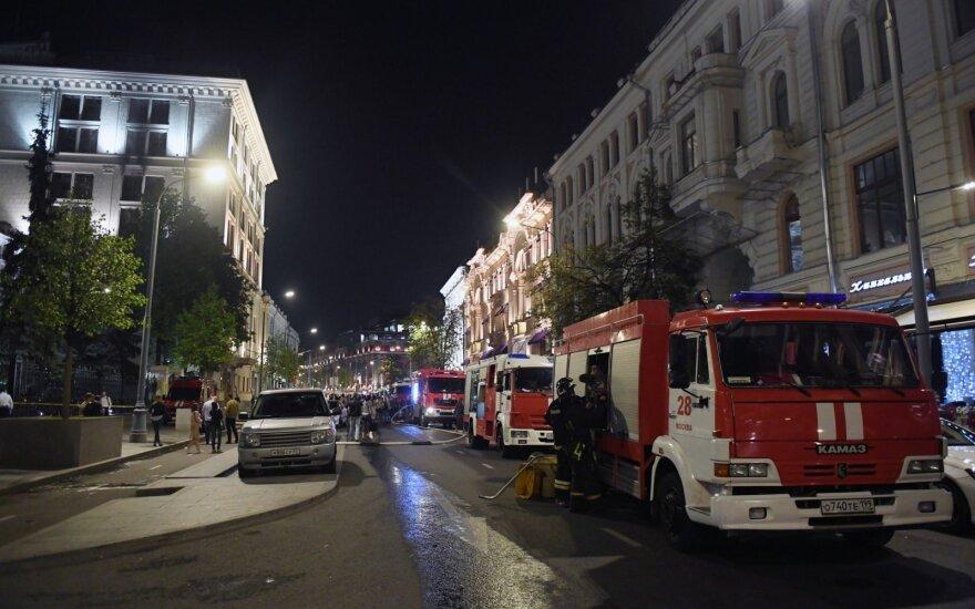 В здании Центробанка РФ при пожаре сгорела оргтехника