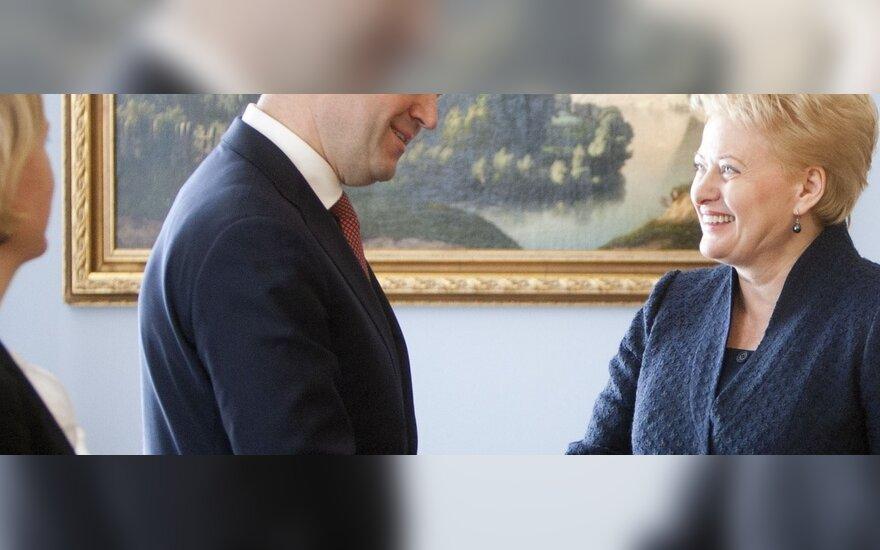 Fredrikas Reinfeldtas, Dalia Grybauskaitė