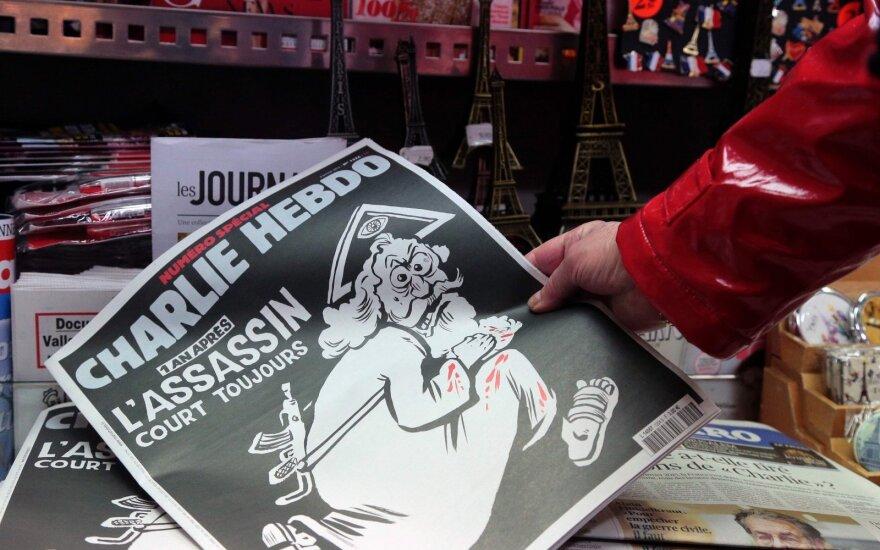 """Ватикан обиделся на Charlie Hebdo за карикатуру """"Бог-убийца"""""""