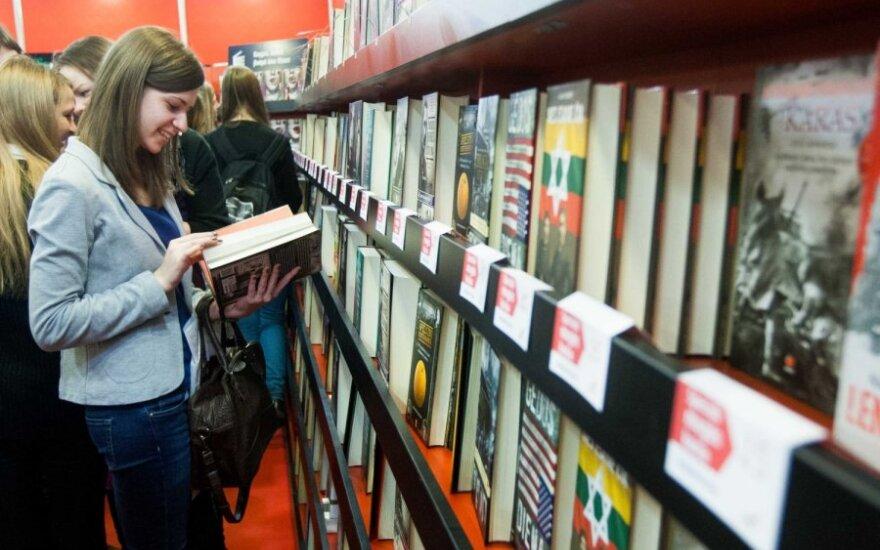 В Вильнюсе проходит Вильнюсская книжная ярмарка