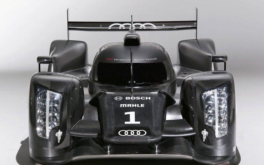 Дизельный болид Audi