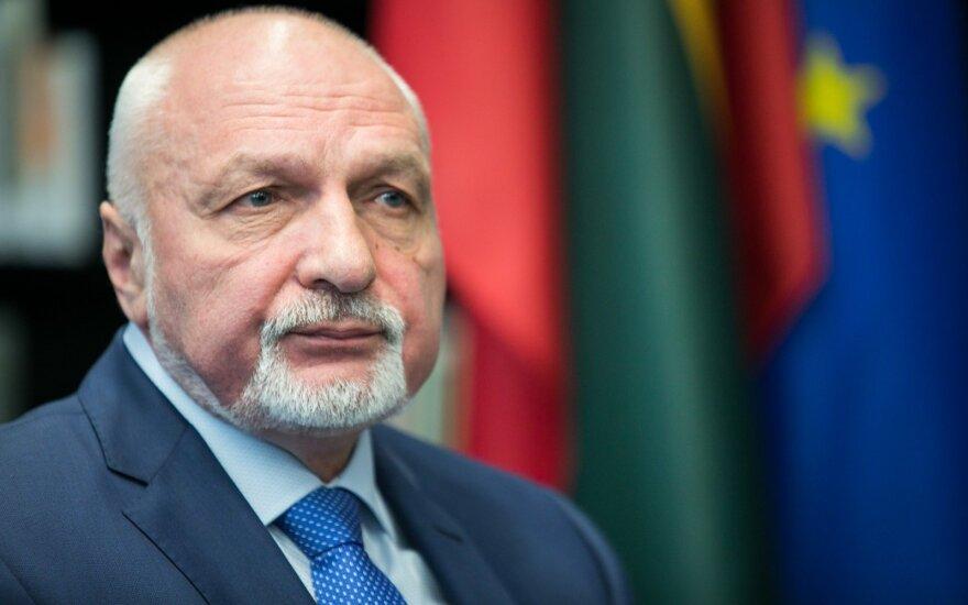 Евродепутат-кандидат Мазуронис идет на выборы с национальной идеей