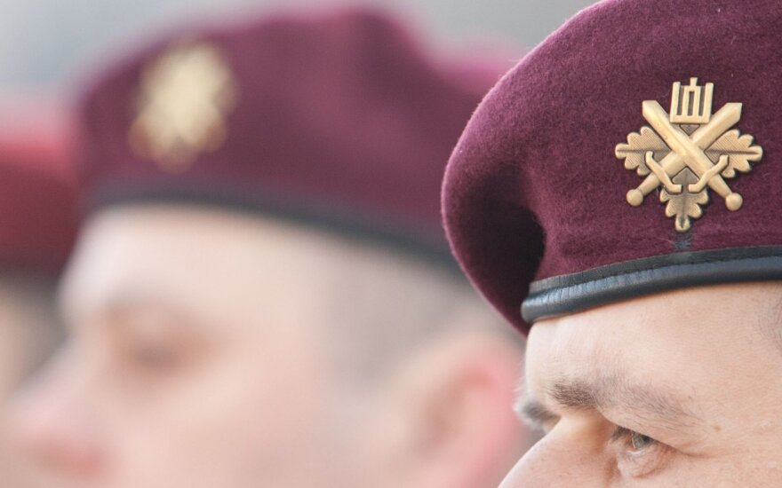 Командовать Силами ополчения Литвы будет полковник Дайнюс Пашвянскас