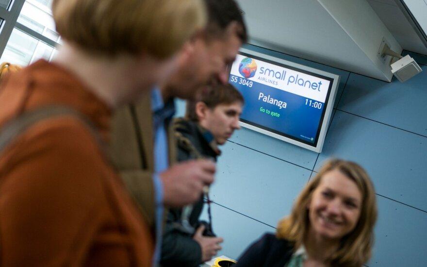 Small Planet Airlines в Литве увольняет четверть своих сотрудников