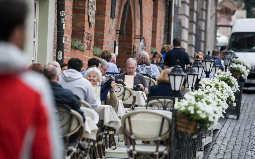 Выручка кафе и ресторанов Литвы в этом году выросла на 18%