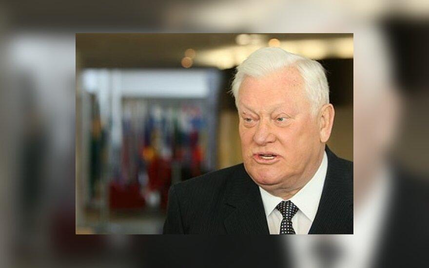 А.Бразаускас: мне непонятно, почему литовцы не любят свою власть