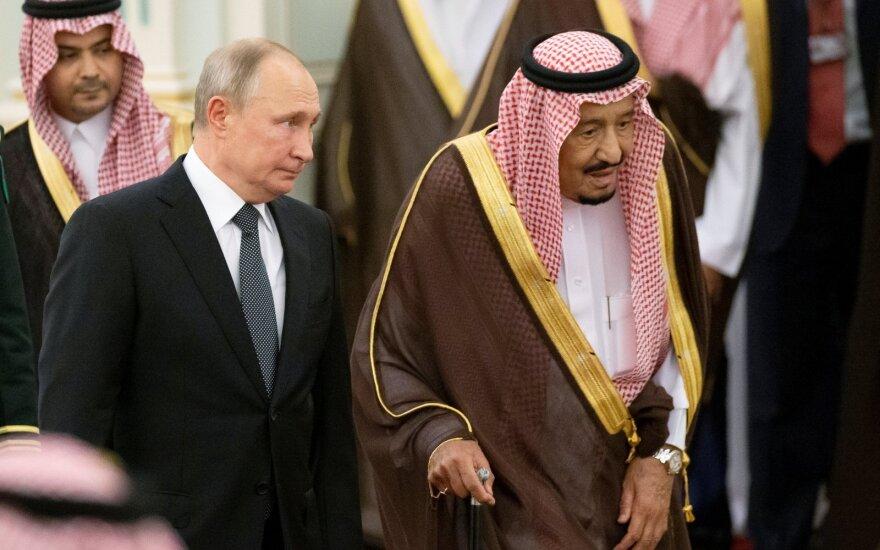 Vladimiras Putinas, Karalius Salmanas