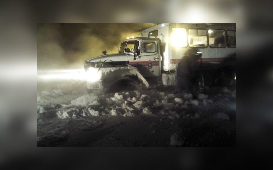 Россия: спасатели спасли застрявших в якутской тайге ученых