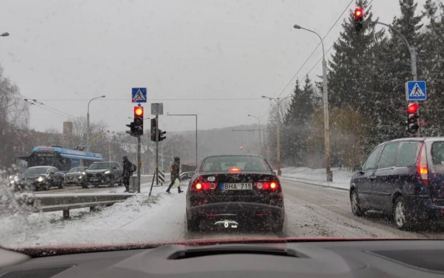Gausus snygis Vilniuje