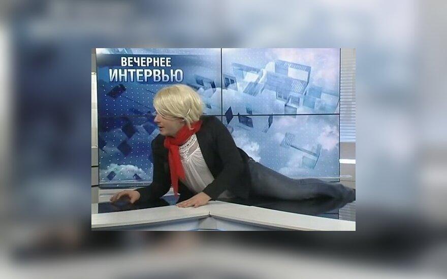 ВИДЕО: Ведущие Первого Балтийского канала стали героями пародии