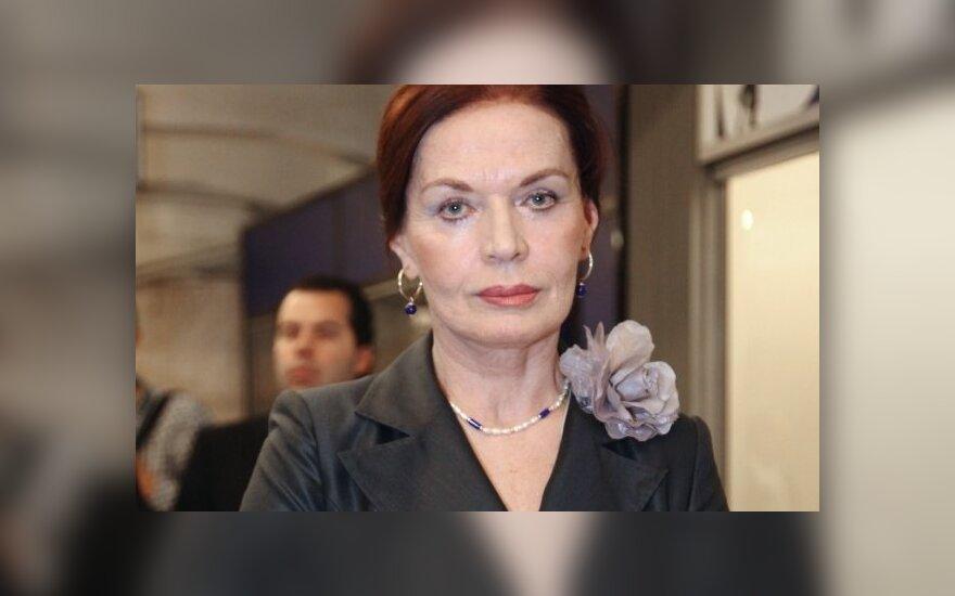 Людмила Чурсина - про российские выборы и латгальские корни