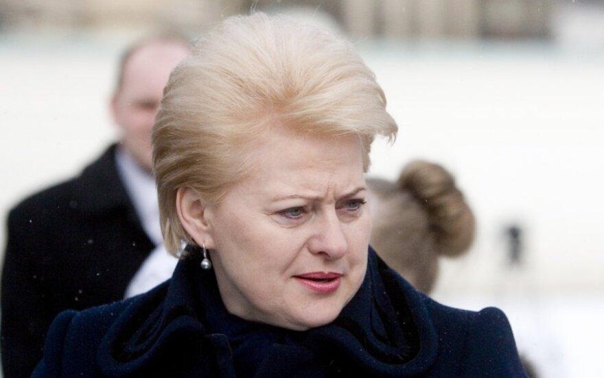 Dalia Grybauskaitė najbardziej lubi odwiedzać Brukselę
