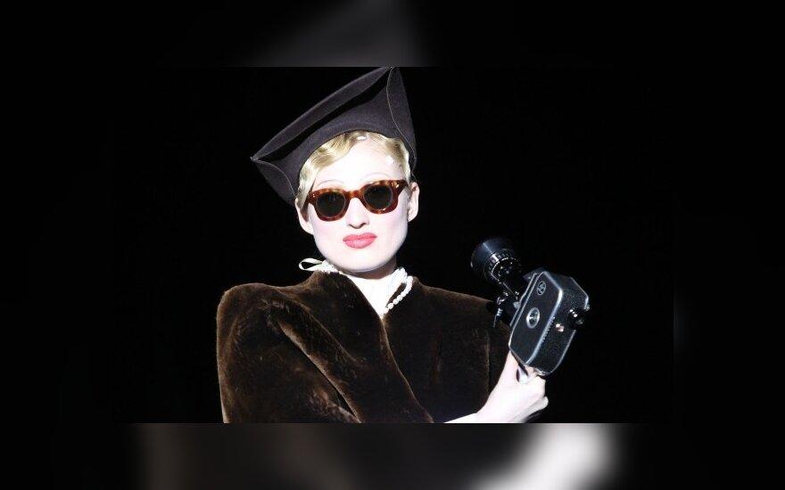 Рената Литвинова представила модную коллекцию