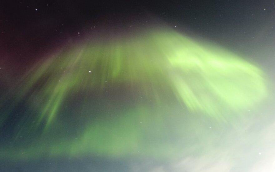 Šiaurės pašvaistė Aliaskoje