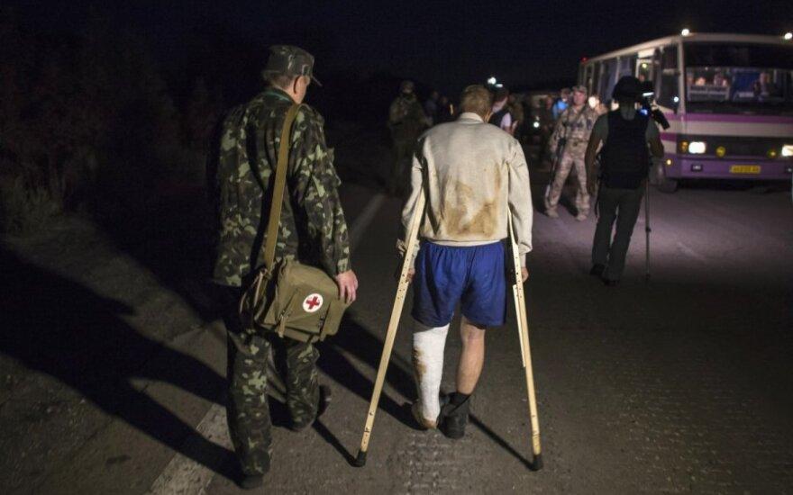 В конце недели в Литву доставят 11 раненых бойцов АТО