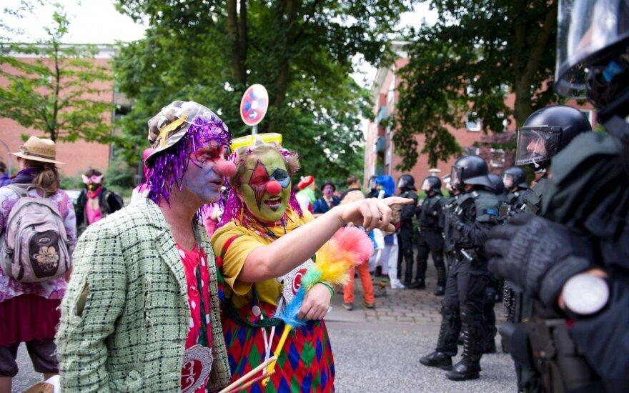 В Европе ищут причастных к беспорядкам в ходе саммита G20 в Германии
