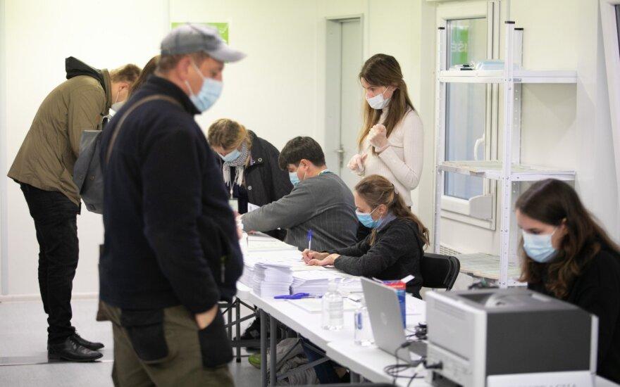В Вильнюсе члены избирательных комиссий могут провериться на коронавирус