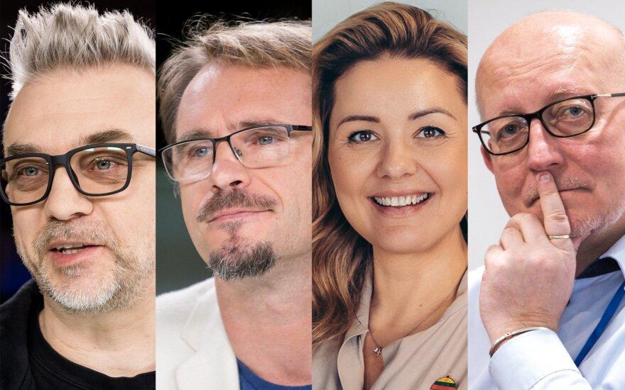 Andrius Mamontovas, Marijonas Mikutavičius, Beata Nicholson, Arūnas Valinskas