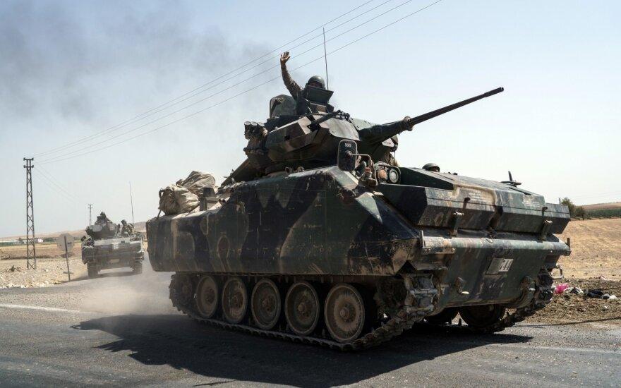 Turkijos kariai Sirijoje