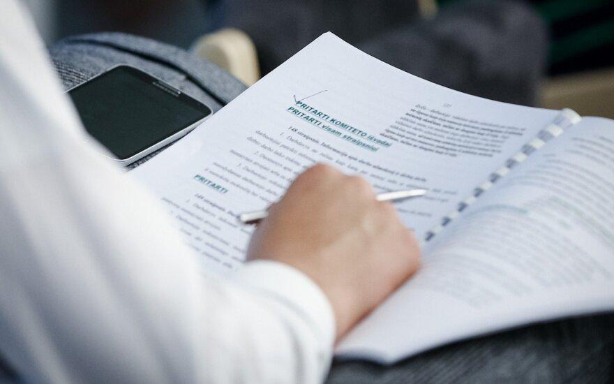 Сейм Литвы рассмотрит предложенные президентом изменения в Трудовом кодексе