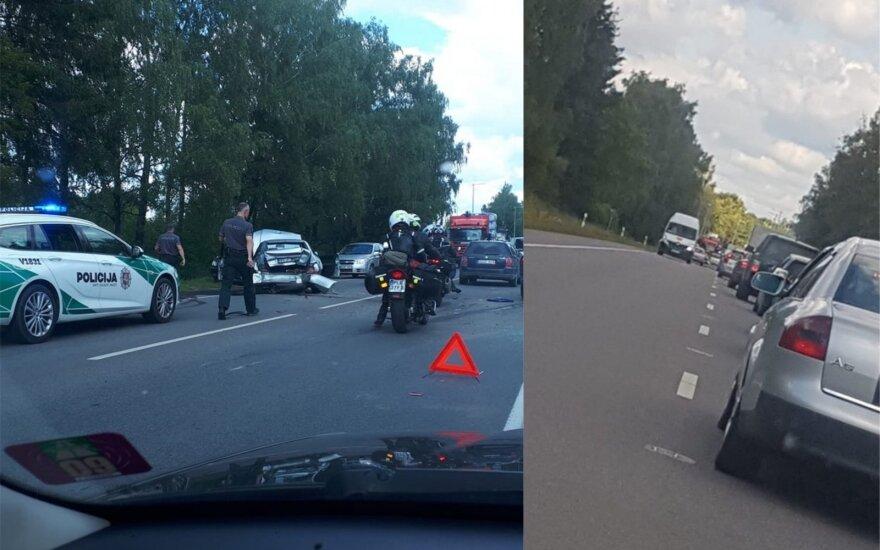 ДТП в Вильнюсе: пострадали две женщины