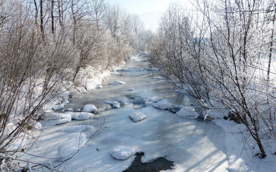 Užšalusi upė