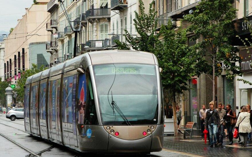 В Вильнюсе – метро или трамвай?
