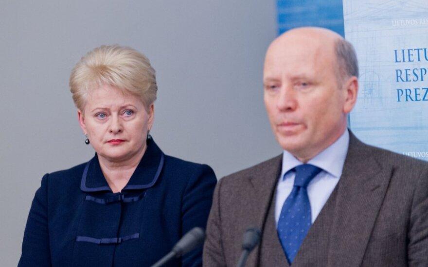 Dalia Grybauskaitė ir Raimundas Palaitis