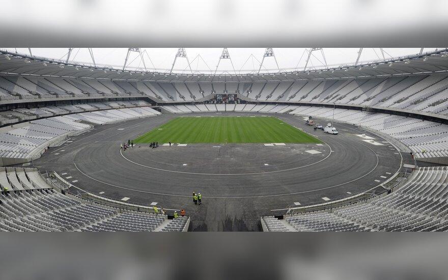 Londone pastatytas naujas Olimpinis stadionas