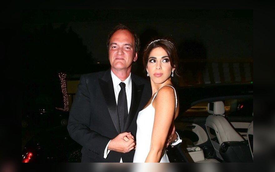 Квентин Тарантино в 55 впервые женился