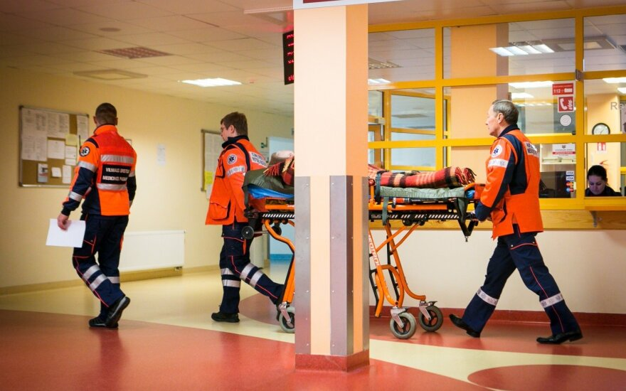 Поездка пьяных мужчин закончилась в больнице
