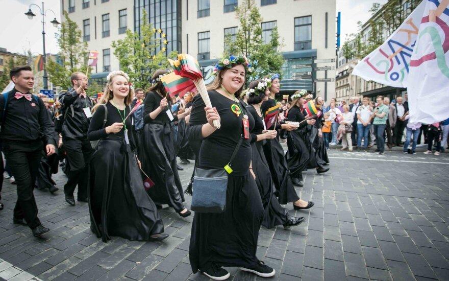 Опрос: большинство жителей Литвы считают себя счастливыми
