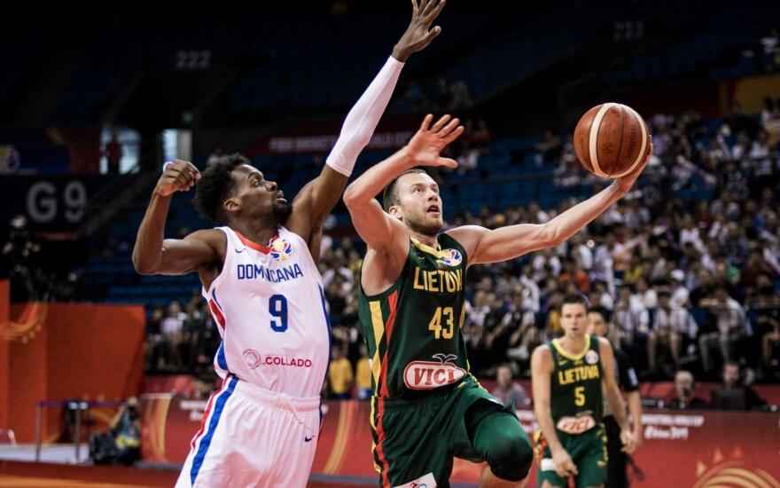 ЧМ по баскетболу: сборная Литвы одержала победу над сборной Доминиканской Республики