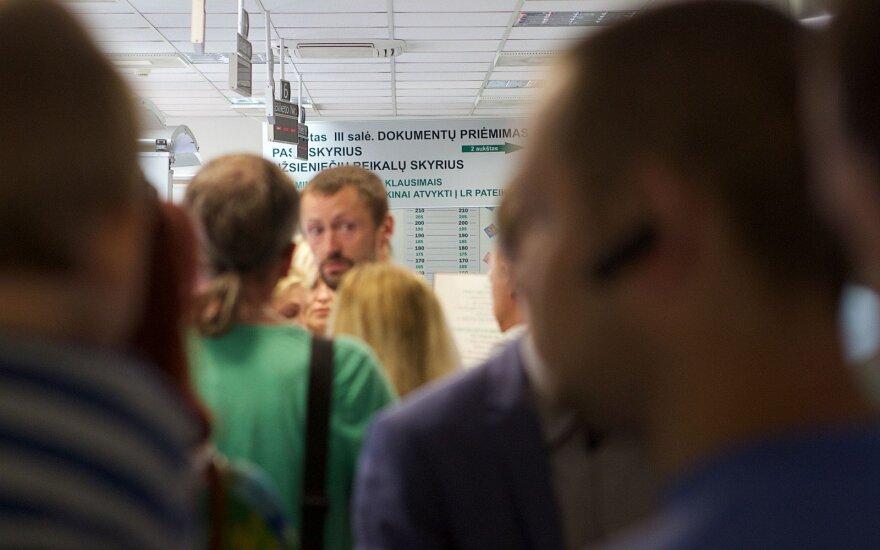 Выдача литовских виз затягивается из-за роста количества обращений